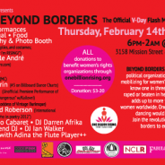 RISE BEYOND BORDERS at EL RIO!