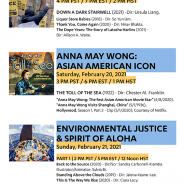 Weekend 1 – UCLA Asian American Studies Center 2021 Film Festival